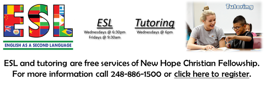 ESL and Tutoring